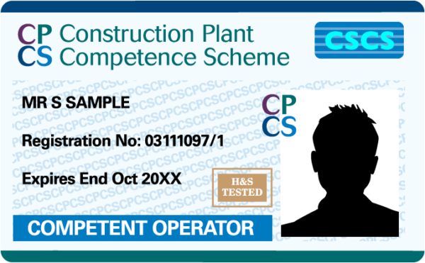 competent operator blue card