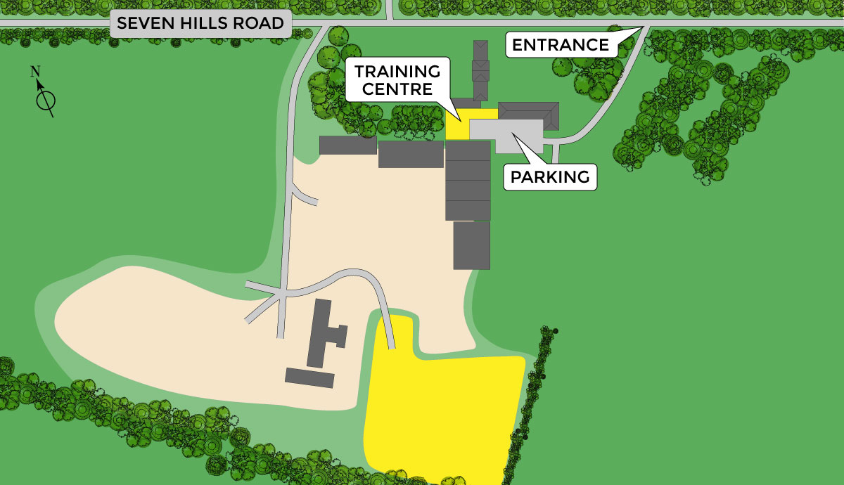 shannon training site map